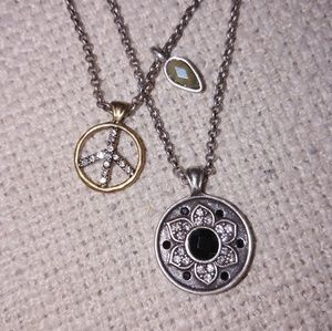 Lucky brand Double layer necklace